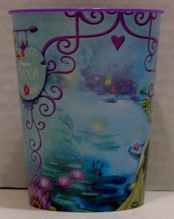 Princess and The Frog Birthday Party Favors 4 Plastic 16 oz Cups