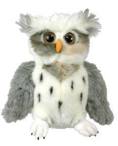 New Plush Soft Toy Full Body Horned Owl Hand Puppet 32cm