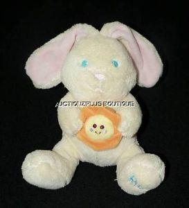 "Kids II Rae Musical Bunny Rabbit Sun Cream You Are My Sunshine 7"" Plush Toy"