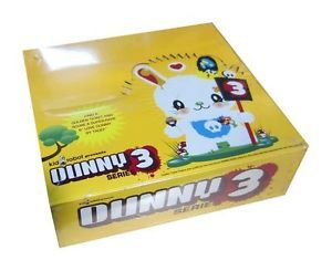 "Kidrobot 2006 Dunny 3"" Series 3 SEALED Case MISB 25 Blind Boxes Chase Vinyl Toy"