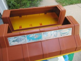 Minty Vtg Fisher Price Fun with Food Play McDonalds Drive thru Restaurant Compl