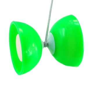 Toy Art Chinese Yo Yos Diabolo Juggling Spinning Moves Sounds Green New