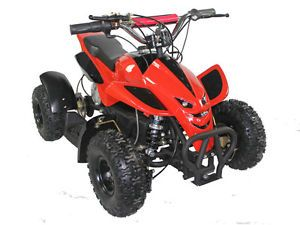 Kids Ride on Toy Mini Dirt Quad ATV 4 Wheeler Battery Powered 36V Electric Red