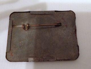 Vintage Metal Arkansas Hunting Fishing License Holder Pin