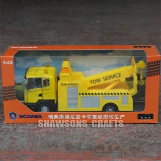 Die Cast 1 43 Scania Tow Truck Wrecker Model Replica