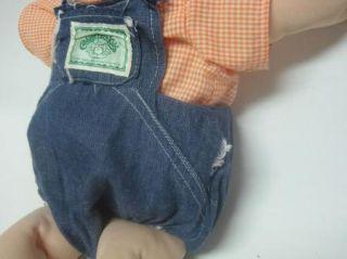 Vintage Cabbage Patch Kids Doll Signed 1984 Bold Blue Eyes