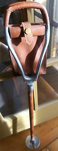 Eldonian Folding Seat Walking Stick Equestrian Hunting Fishing Golf Cane Chair