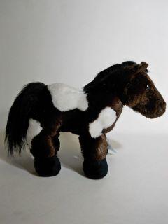 Webkinz Pinto HM147 Plush Stuffed Animal Toy Plus SEALED Code
