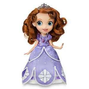 Disney Store Princess Sofia The First Singing Doll Toy Figure Sophia New in Hand