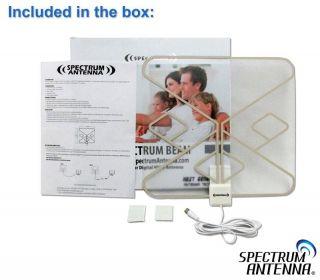 Spectrum Antenna Beam Flat Indoor Passive HDTV Antenna SP513