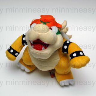 "10"" Nintendo Super Mario Bros Bowser Plush Figure Doll Toy 432"