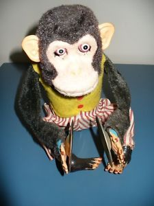 CK Musical Jolly Chimp Clapping Cymbals Battery Toy Japanese Daishin 1960s Story