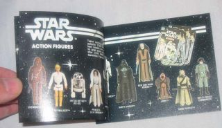 Kenner Burger Chef Promotion Catalog '78 Vtg Space Maze Star Wars
