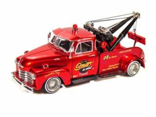 Jada Street Low 1953 Chevy 3100 Diecast Tow Truck 1 24 G Scale