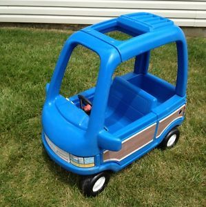 Little Tikes Blue Woody Van Child Size Ride on Toy Pickup Central NJ