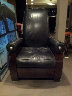 Mid Century Modern Italian Beautiful Leather Chair Must Sell