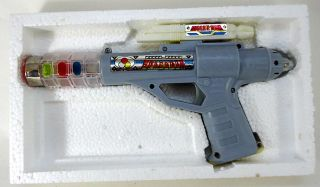 Vintage Space Gun Pistolet Spatial Red China 1980'S