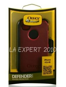 New Otterbox Defender iPhone 4 4S Series Case Holster Clip Retail Box