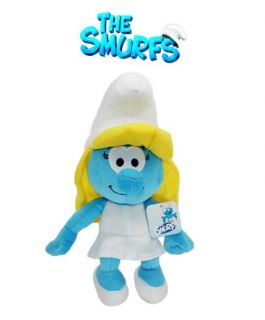 The Smurfs Smurfette Girl Stuffed Plush Doll Toy Lovely Xmas Gift for Kids 9""
