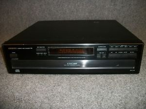 Onkyo DX C120 Home Audio Stereo Compact Disc Carousel Changer 6 CD Player System