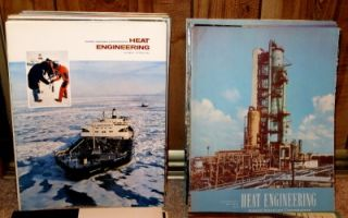 92 Heat Engineering Magazines by Foster Wheeler Corp 1955 thru 1974
