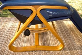 ... Backsaver Chair Zero Gravity Recliner Chair Modern Style Wood Blue Leather ... & Thick Wood Blueu0027s Clues