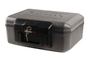 SentrySafe 1210 Fire Safe Security Chest CD DVD USB Lock Box Safety Home