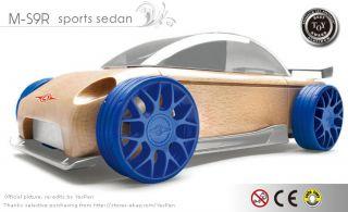 Automoblox Car Mini S9 R Sports Sedan Wooden Model Toys