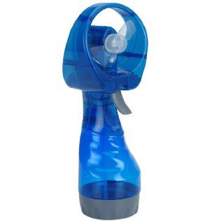 New Portable Hand Held Battery Power Fan Air Water Mist Bottle Cooling Spray