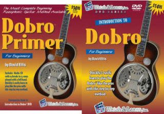 W Introduction to Dobro Learn Bluegrass DVD Book CD New