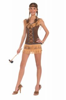 Sexy Native American Indian Navajo Costume Dress Adult Women Thanksgiving XS SM
