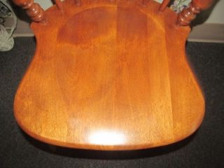 Ethan Allen Comb Back Side Chair 6040 Heirloom Nutmeg Maple Collection