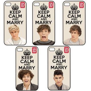 Keep Calm and Marry One Direction 1D Apple iPhone 4 4S Back Hard Case Cover