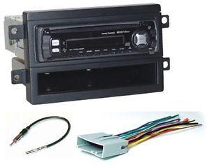 2007 08 Ford F 150 Single DIN Radio Install Dash Kit Harness Antenna PKG259