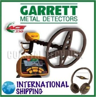 Special Garrett Ace 350 Metal Detector Headphones Instructional DVD