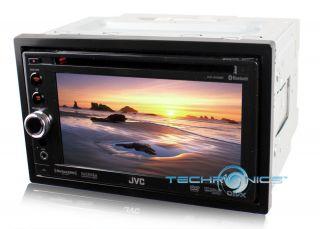 JVC KW AV60BT 2yr WRNT Car Stereo Radio iPod DVD Player with Bluetooth Receiver