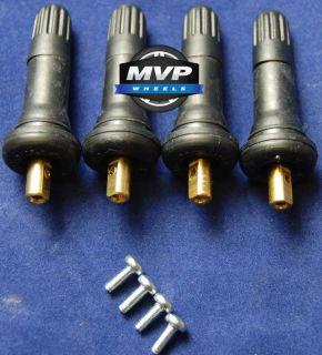 Set of Four 4 Replacement TPMS Tire Pressure Monitoring Sensor Valve Stem New
