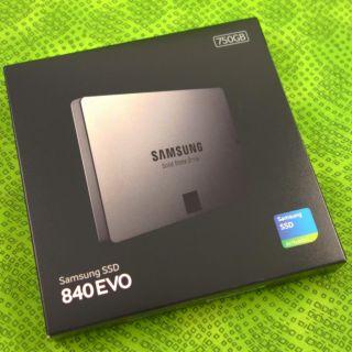 ... New 750GB Samsung 840 EVO MZ 7TE750 Laptop SSD 2 5