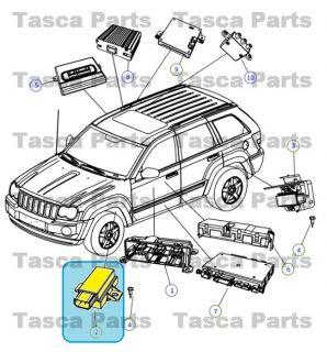 Mopar Tire Pressure Monitoring Module 2005 2014 Dodge Chrysler Jeep Vehicles
