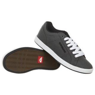 Quiksilver Little Area 5 Slim CVS Mens Shoe Grey Black footwear Shoes White