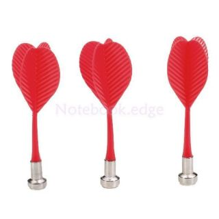 3pcs Red Magnetic Darts Target Game Children Safety Portable Home Office