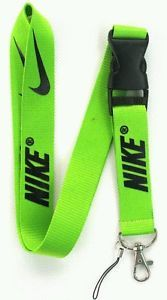 Nike Lanyard Neon Green New Great for School ID Badges