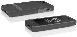 Incipio Stashback Dockable Credit Card Wallet Case Cover iPhone 5 Graphite Gray