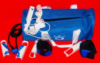 Nintendo Wii The Biggest Loser Ultimate Fitness Kit Bigl 109 Jump Rope Gym Bag