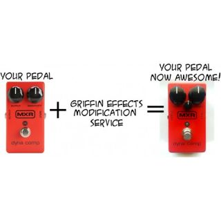 MXR Dyna Comp Compressor Ross Tone Control Modification Service in Your Pedal