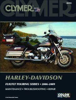 2006 2009 Harley Davidson FLH Flt Touring Series Clymer Service Manual