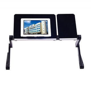 New Folding iPad Table Desk Tilting Notebook Laptop Computer Tablet Bed Stand