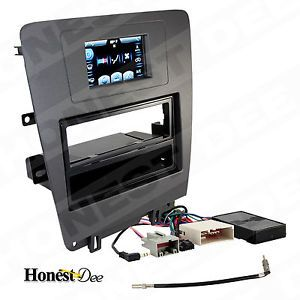 Mustang Car Stereo Single Double D 2 DIN Radio Install Dash Kit Combo 99 5826CH