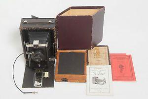 Antique Seneca Folding Camera 4 x 5 Film Camera Large Format Vintage Camera