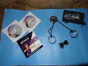 Forbes Riley Spingym Upper Body Shaper w 2 DVD Instructional Workout Manual